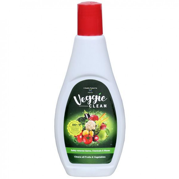 Veggie Clean,100% Safe, Scientific & Natural Vegetable & Fruit Wash Liquid