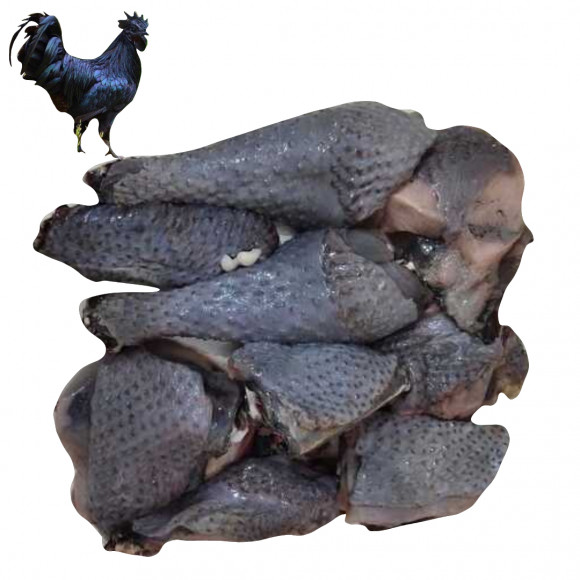 Desi Kadaknath Chicken - With Skin Curry Cut