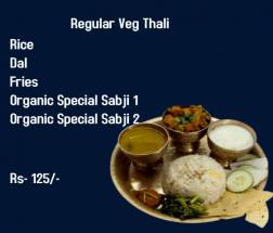 Regular Veg Thali -Lunch